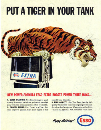 History of content marketing: Exxon